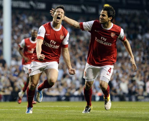 Samir Nasri and Cesc Fabregas still love Arsenal according to their former teammate Johan Djourou