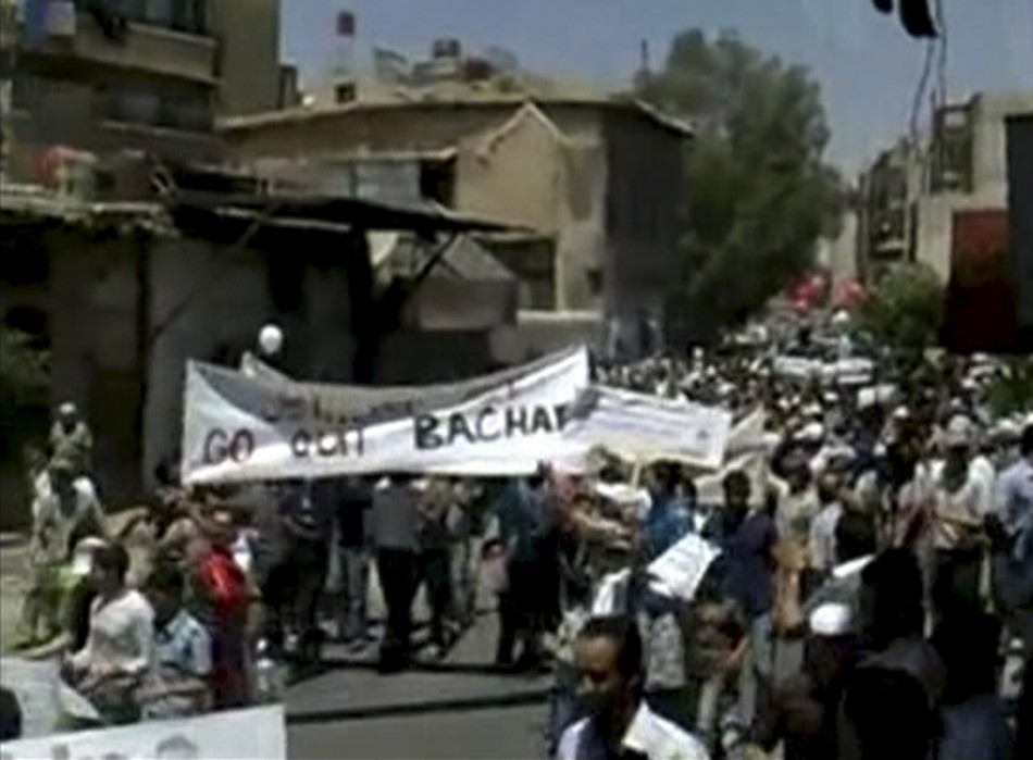 Anonymous Hackers Join Syrian Protest (PHOTOS)