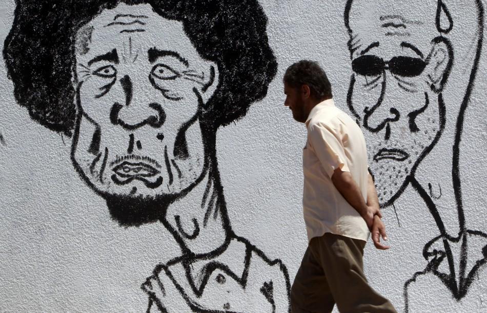 Funny Gaddafi Caricatures