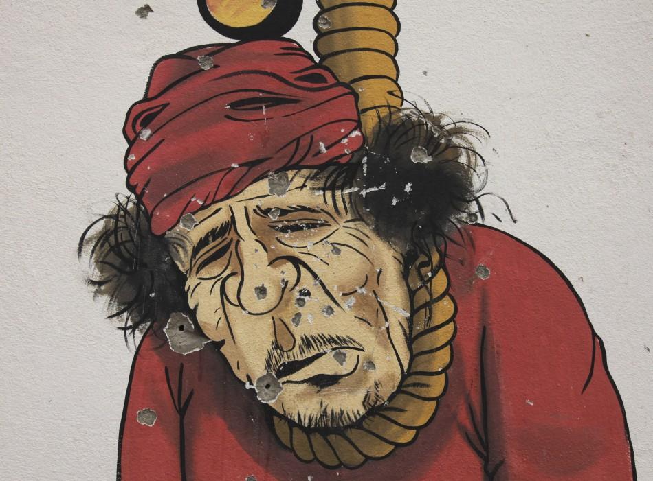 Gaddafi face justice