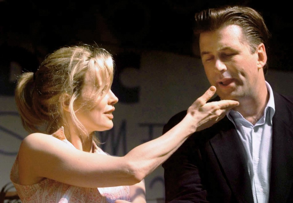 Kim Basinger and Alec Baldwin