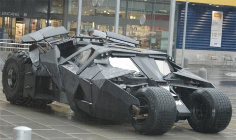 1) Batmobile from 'The Dark Knight'