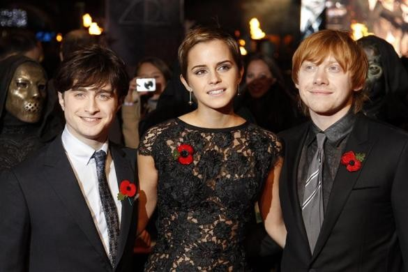 Harry Potter stars: Then & Now