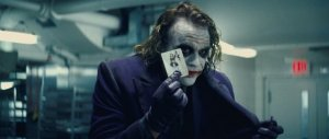 Heath Ledger in The Dark Knight
