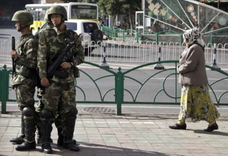 China blames terrorists for attack in Xinjiang