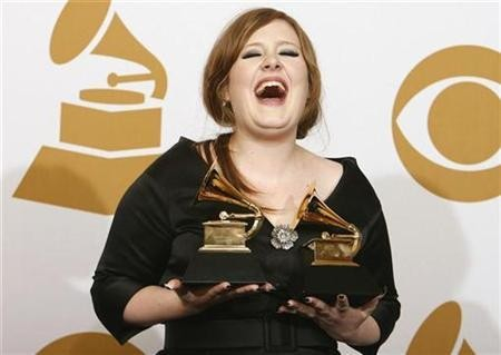 Adele up against two past winners for Mercury Prize