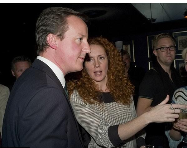 David Cameron and Rebekah Brooks