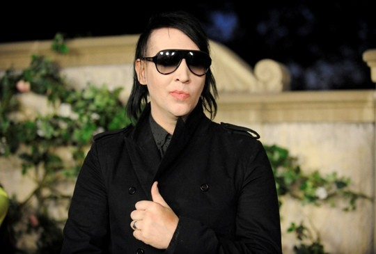 "Musician Marilyn Manson attends MIU MIU presents Lucrecia Martel's ""Muta"" held at a private residence in Beverly Hills"