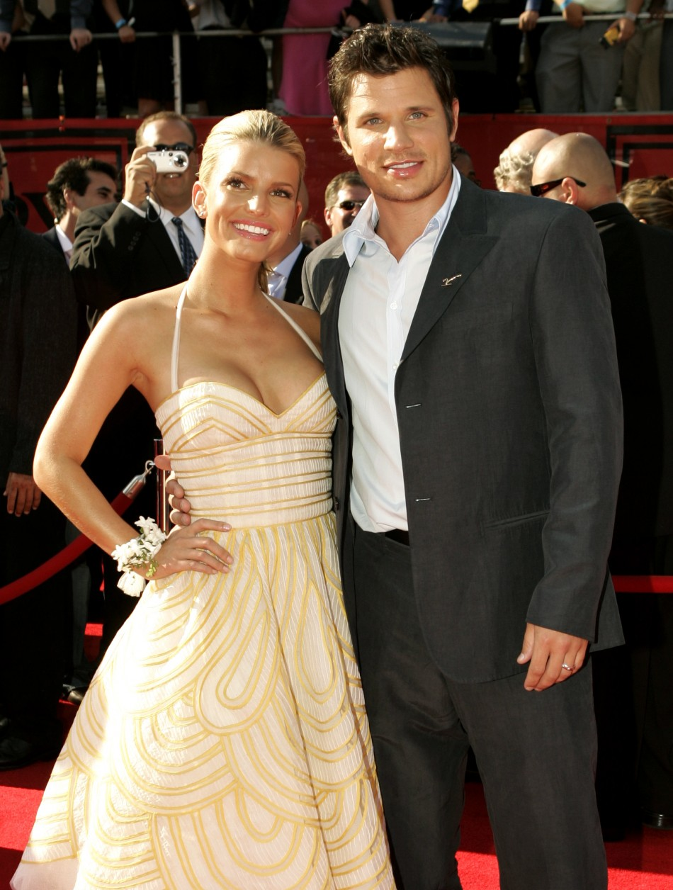 Jessica Simpson & Nick Lachey