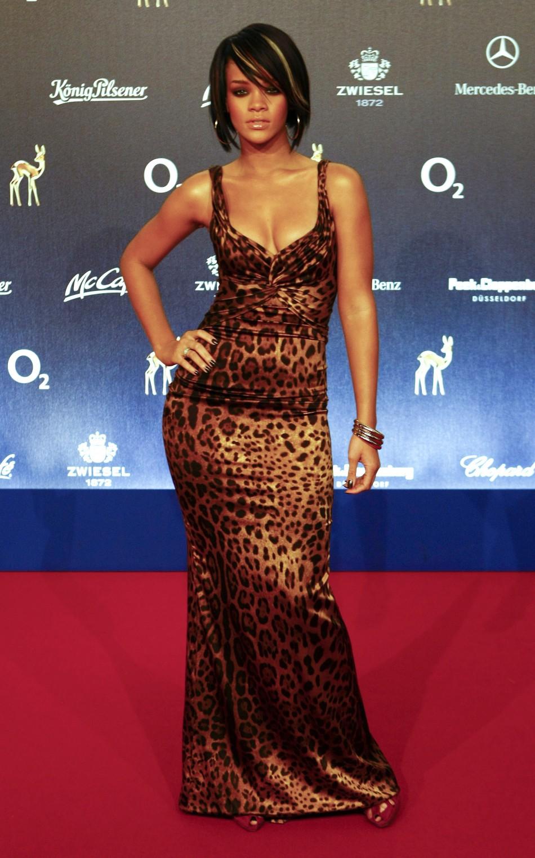 Barbadian singer Rihanna