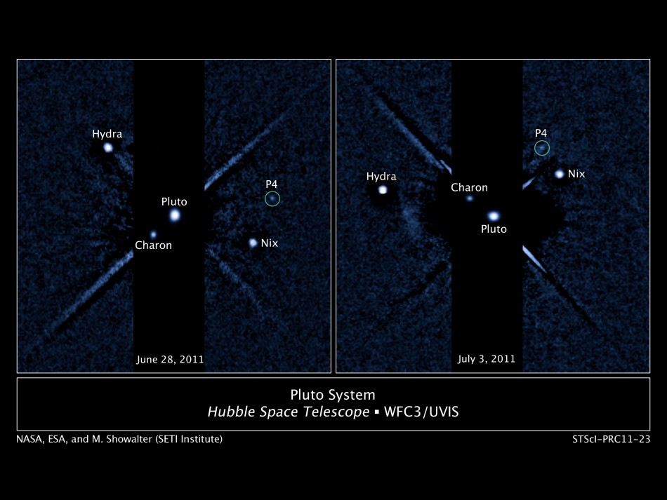 New Pluto Moon Discovered