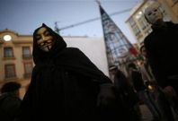 Anonymous Night of a Thousand Masks 11.11.11: Fresh Batch of Protesters to March on St. Paul's [VIDEO]