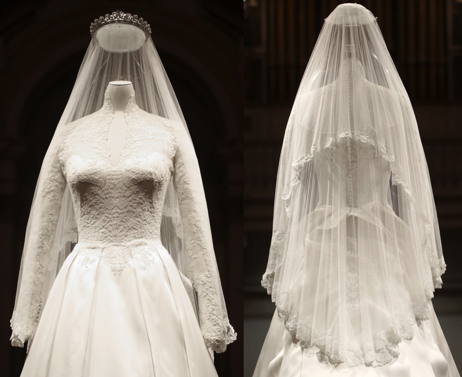Kate Middleton\'s Wedding Dress Made Available to View at ...