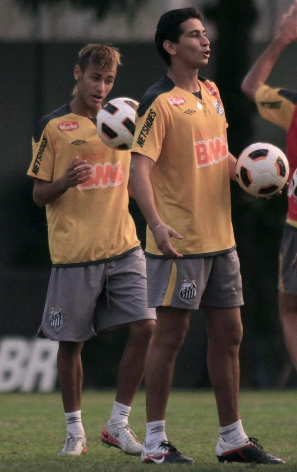 Neymar and Ganso