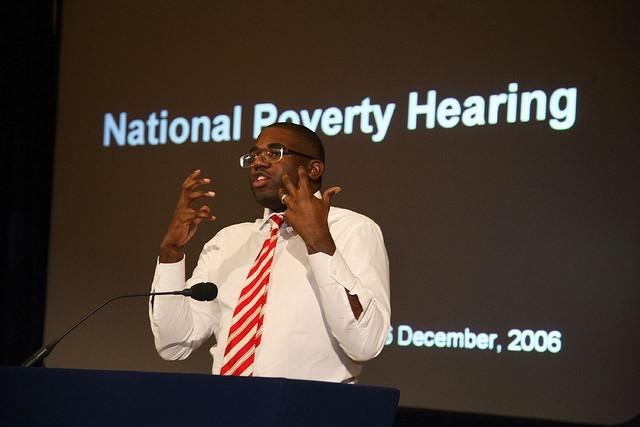David Lammy at National Poverty Hearing