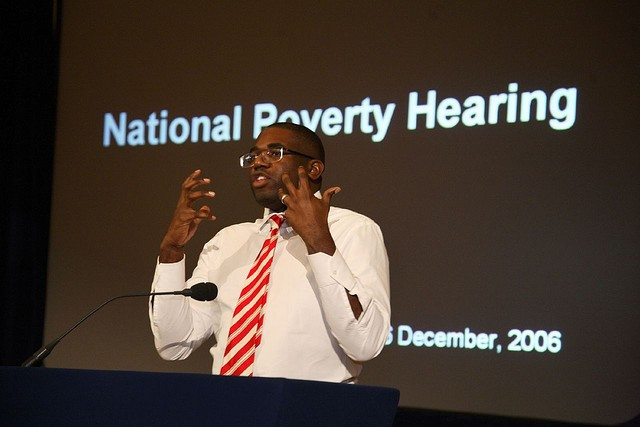 David Lammy at National Poverty Hearing