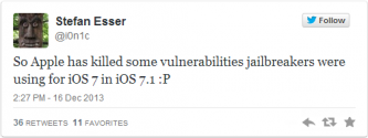 iOS 7 Jailbreak in Danger: iOS 7.1 Beta Patches Mobilebackup2 Exploit