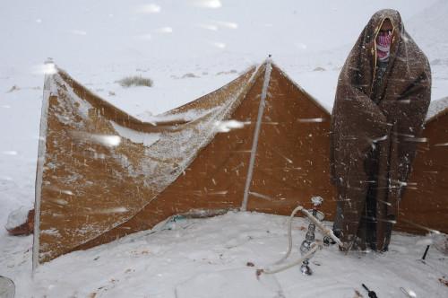 Saudi Arabia Snow 1