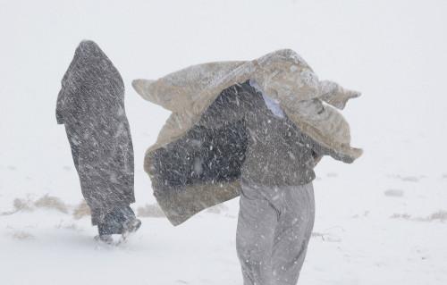 Saudi Arabia Snow 2