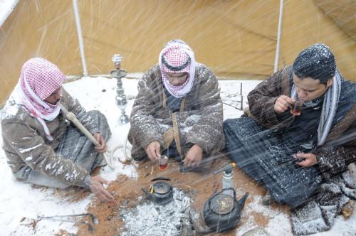 Saudi Arabia Snow 3