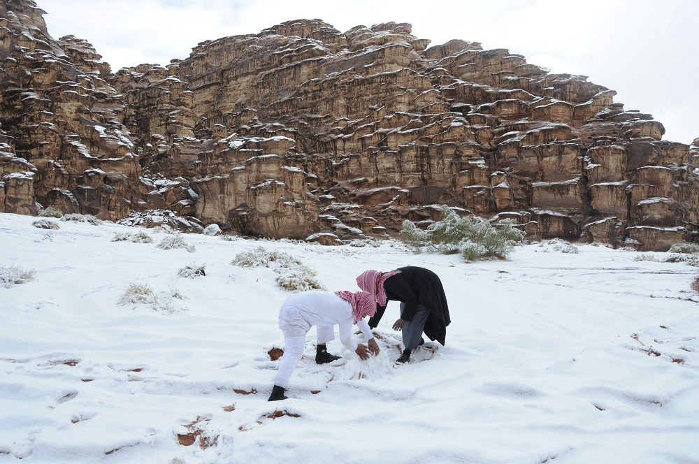 Saudi Arabia Snow 4