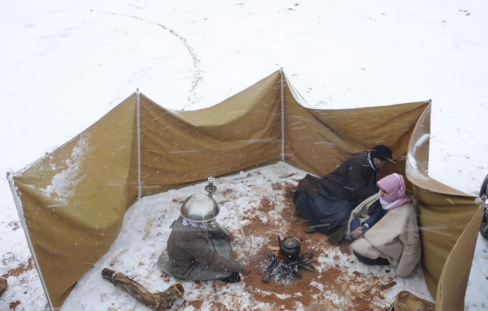 Saudi Arabia Snow 5