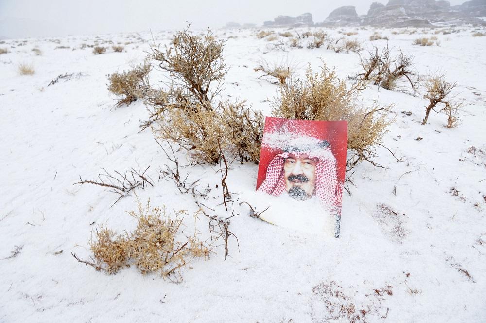 Saudi Arabia Snow 6