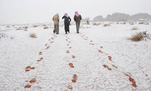 Saudi Arabia Snow 7