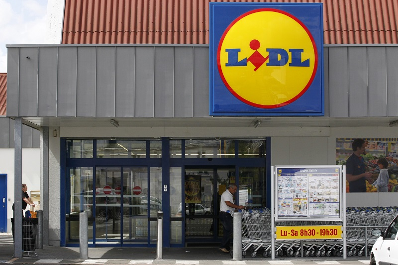 Lidl: a big hit with UK consumers
