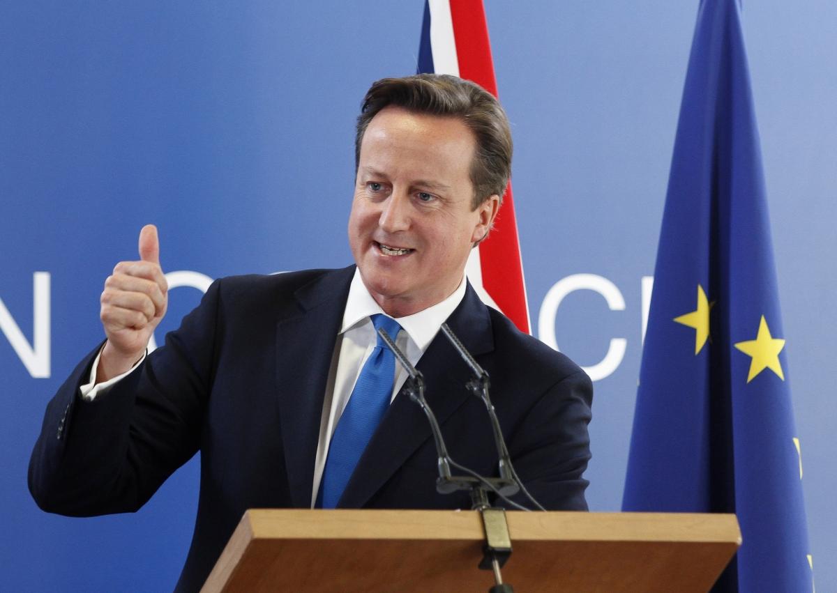 David Cameron EU UK shale gas