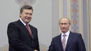 Yanukovich - Putin