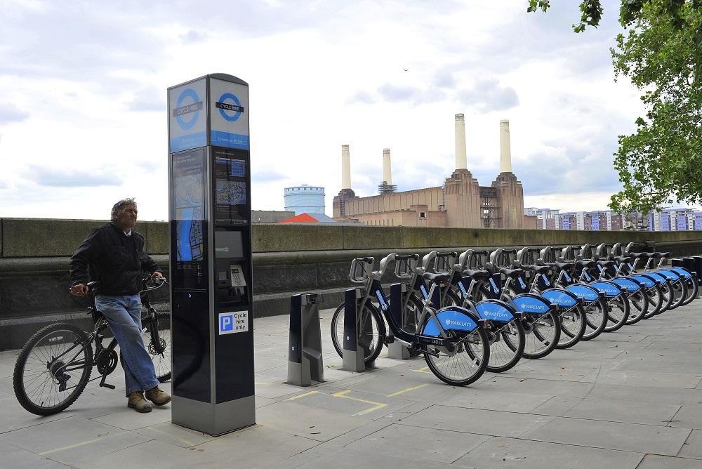 Man Rides Boris Bike To France and Back