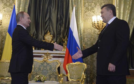 Yanukovich - Putin deal
