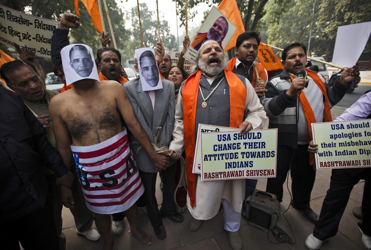 US-India diplomatic row over Devyani Khobragade's arrest