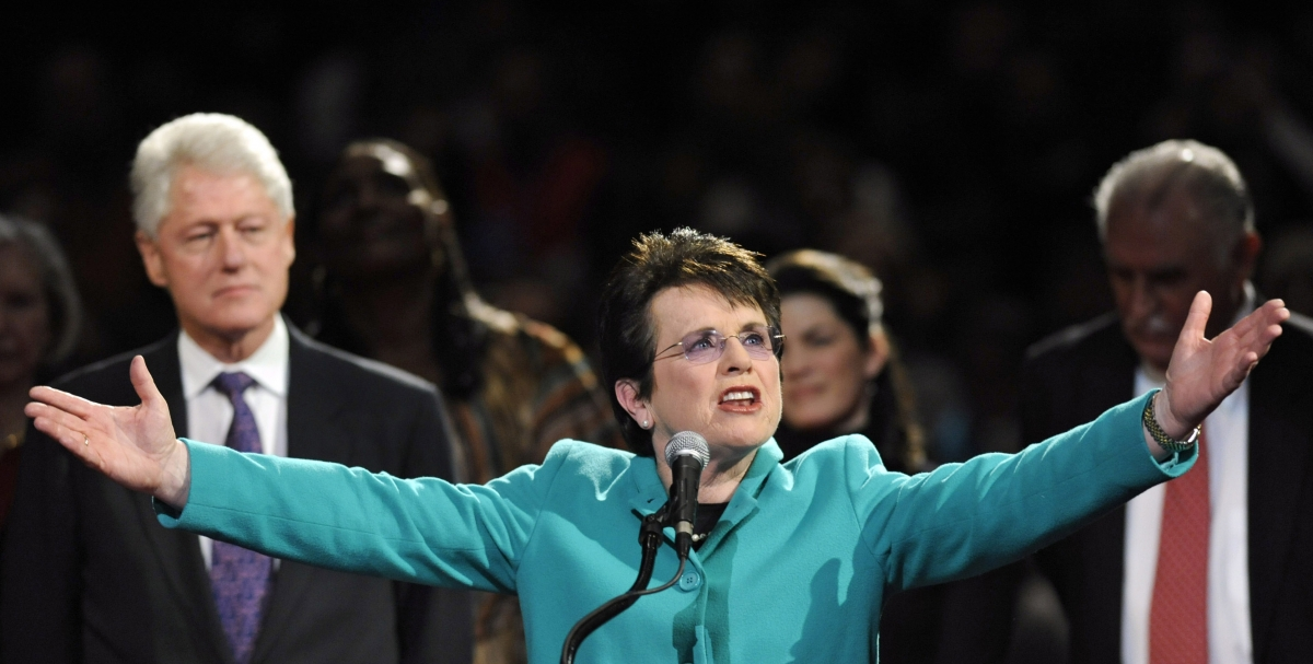 Billie Jean King Sochi