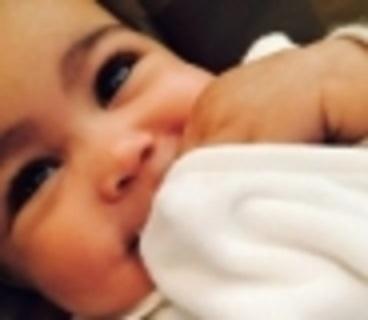 Kim Kardashian's baby daughter