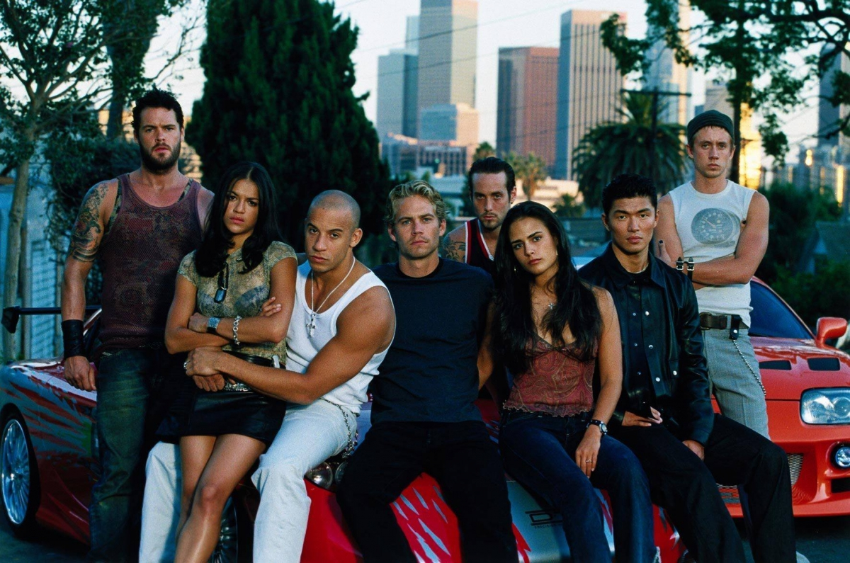 While Johnson bagged the top spot, his other 'Fast and Furious 6' co-stars Vin Diesel and the late Paul Walker also made it to the top 6.