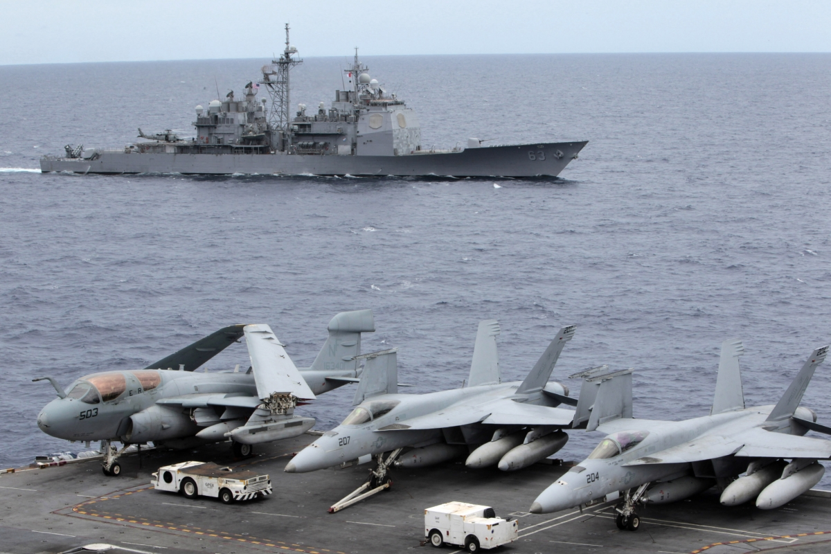USS Cowpens China