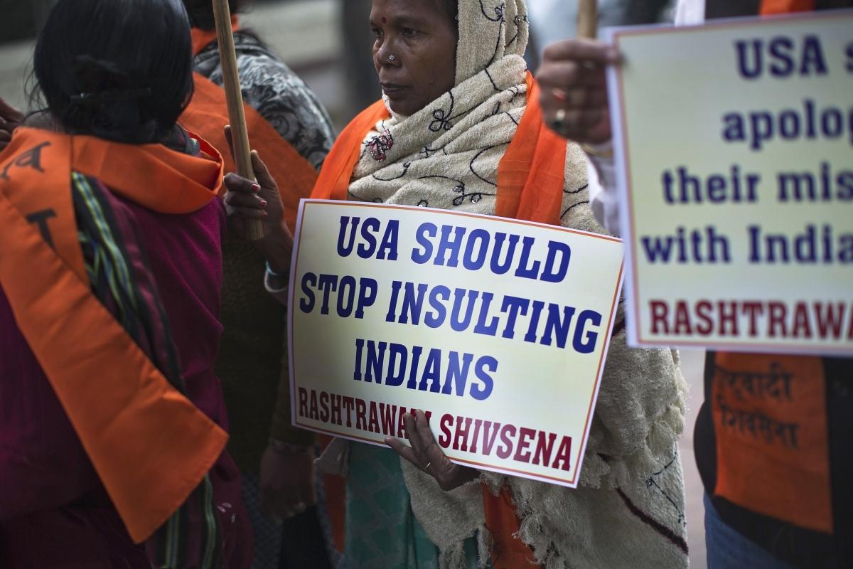 India-US diplomatic row