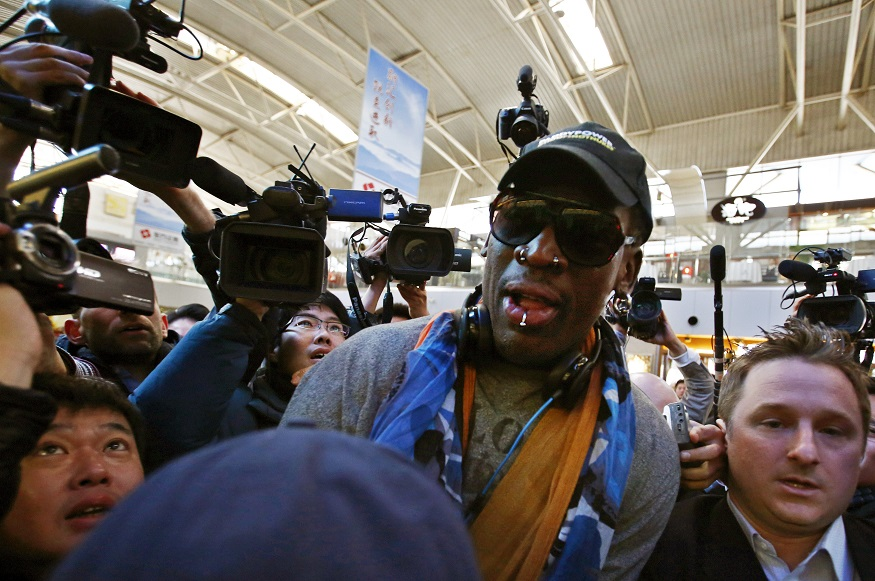 Dennis Rodman to visit pal Kim Jung-Un in North Korea and coach a basketball team for Pyongyang competition