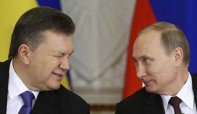 President Viktor Yanukovich and President Vladimir Putin