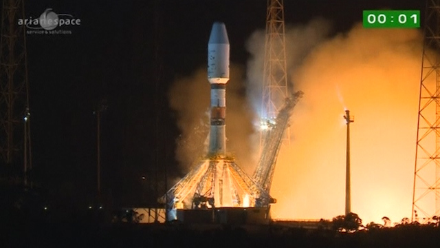 Rocket Blasts Europe's Star Mapper Craft Gaia into Orbit
