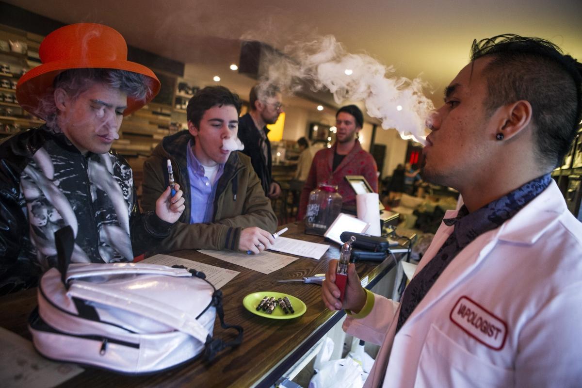 E-Cigarette Bars: The Future of Smoking Indoors?