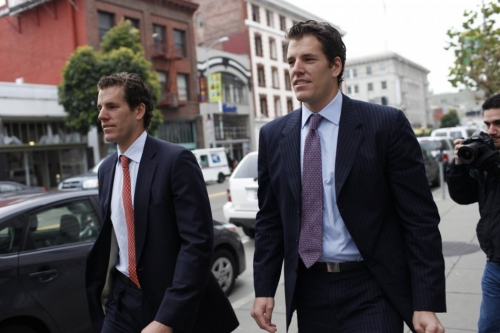 How much cryptocurrency do winklevoss twins own