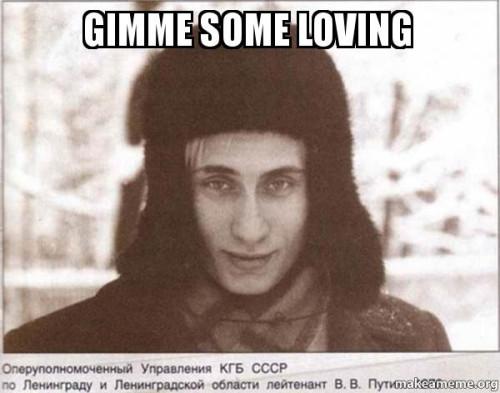 Putin falls in love