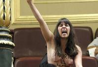 Femen topless protest