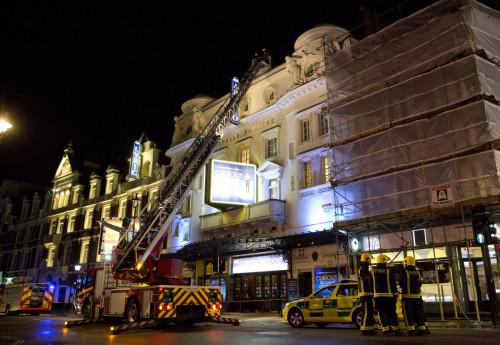 London Apollo Theatre collapse injures dozens