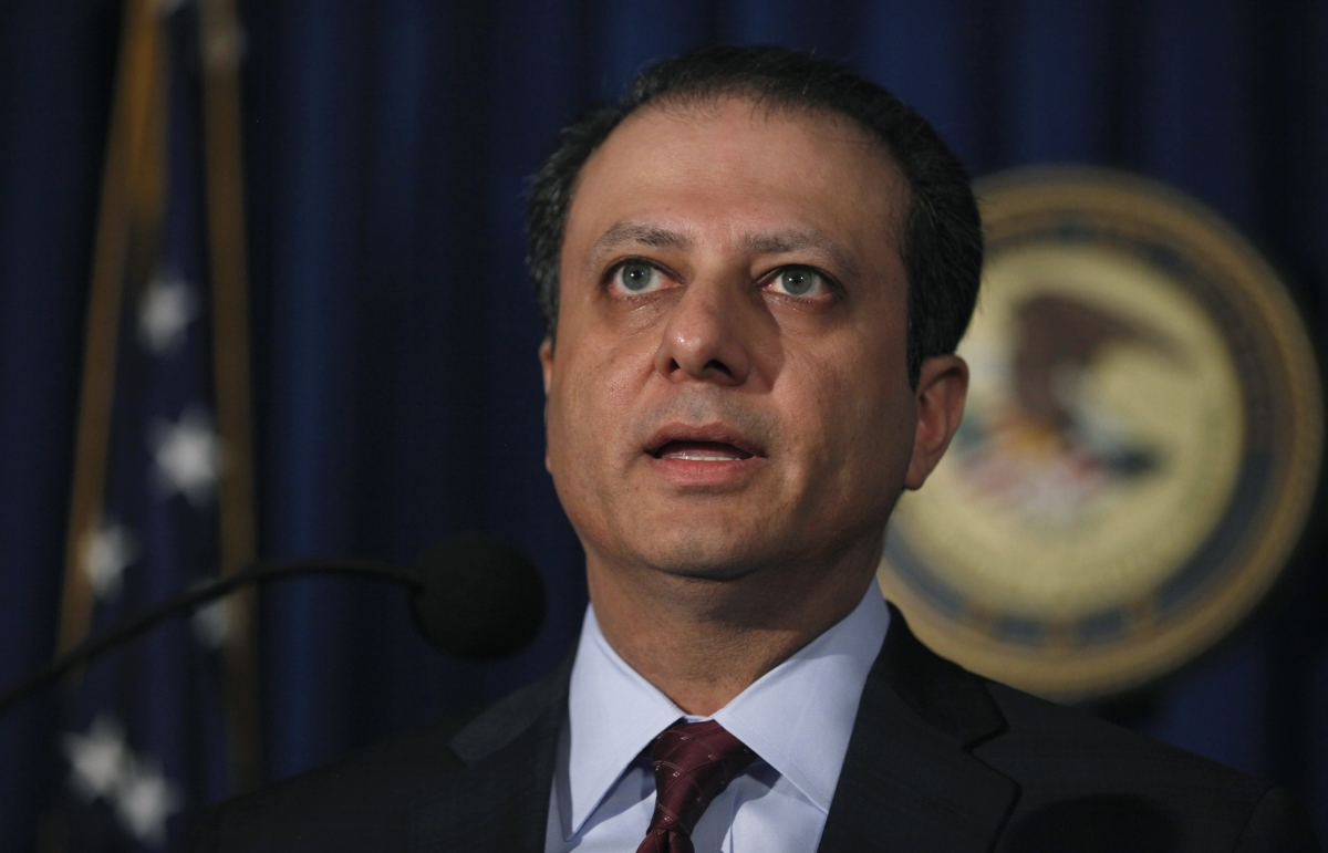 US Attorney Preet Bharara