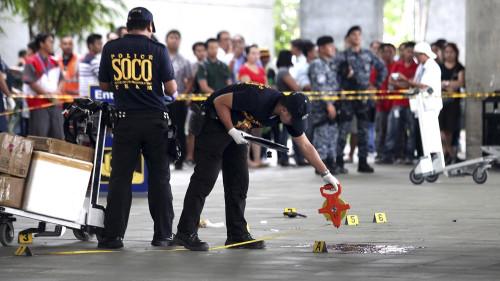 Philippines Mayor Assassinated Airport