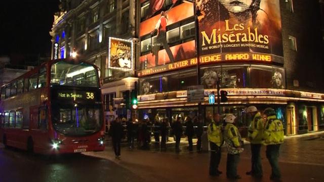 London Apollo Theatre Ceiling Collapse Injures Dozens